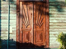 Doors of interwar Kaunas
